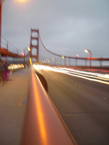 Golden Gate bridge, longLight