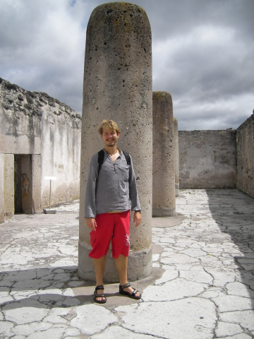 Me at the temple of Mitla