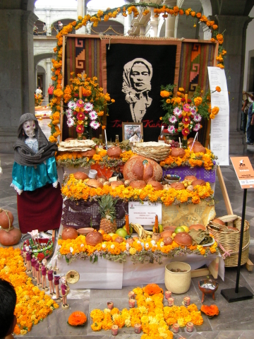 Altar for the day of the dead IV
