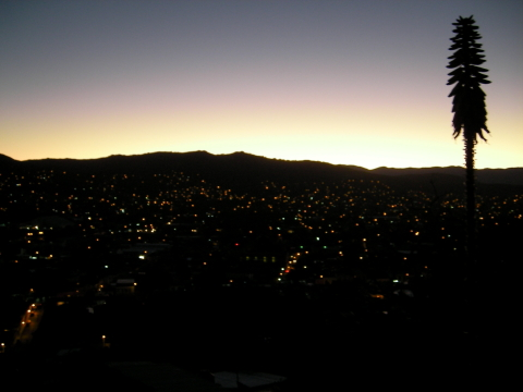 OAX_view from the roof of my house_night