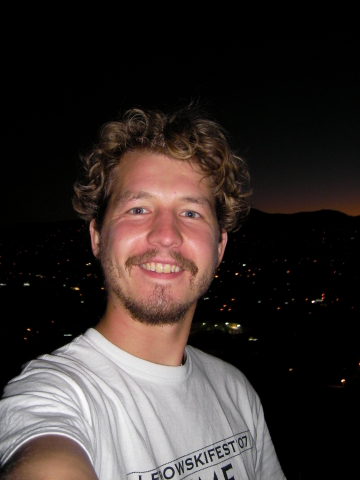 OAX_ me on the roof of my house at night